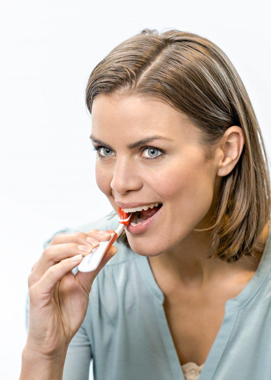 Advertorial für ein Zahnpflege-Produkt