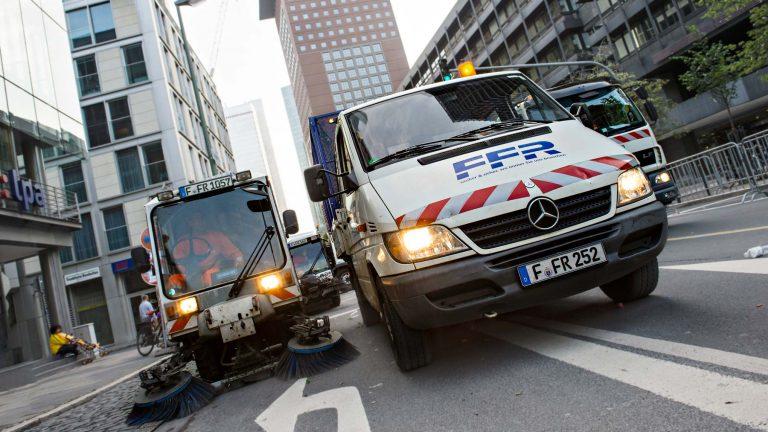 Werbefotografie für die Strassenreinigung