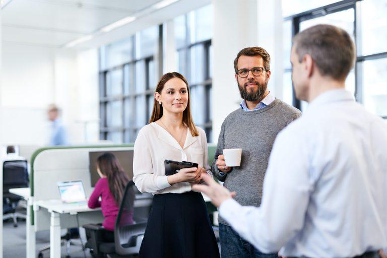 Personalwerbung für die Personalsuche eines IT-Unternehmen