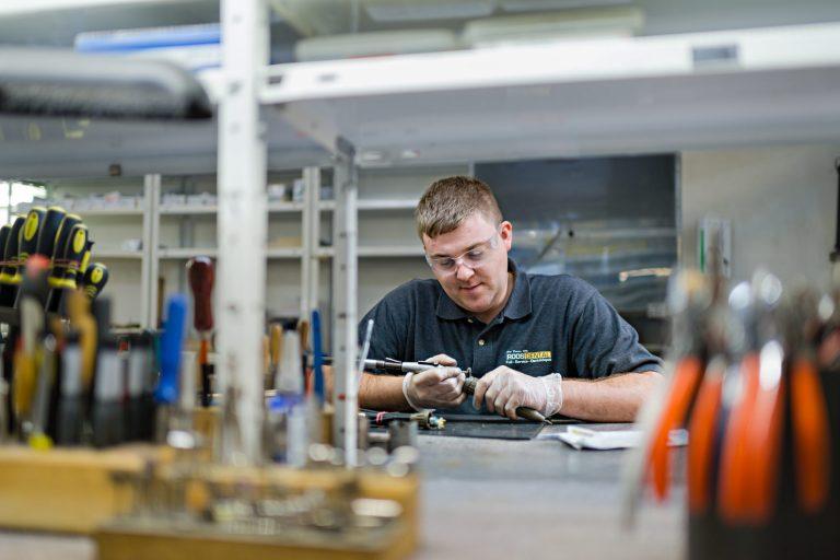 Referenzstory - Businessportrait in einer Werkstatt