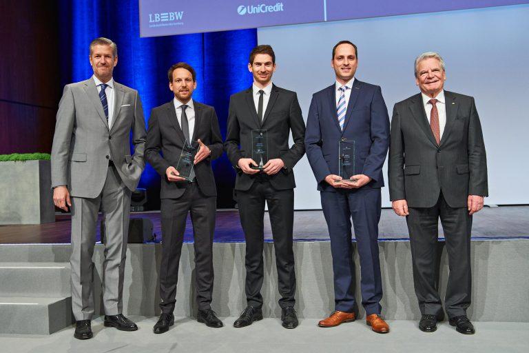 Finanzsymposium - Ehrung der Preisträger