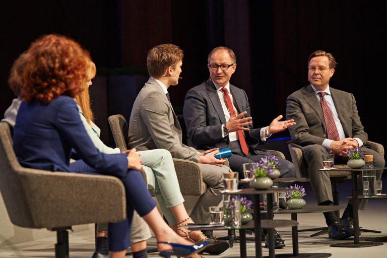 Pressefotos und Dokumentation Finanzsymposium