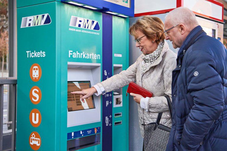 Fotograf aus Schwerin - Fahrkartenkauf am Busbahnhof