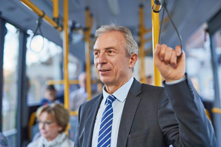 Fotograf aus Schwerin - Fahrgast einer Verkehrsgesellschaft